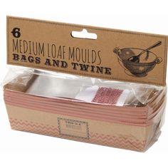 Talking Tables Loaf Moulds 6 Pack | Hobbycraft