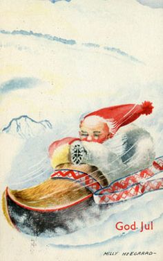 Gorwegian Geneologist gurries to Rootstech. Christmas Jingles, Christmas Fairy, Vintage Christmas, Christmas Cards, Christmas Postcards, Dashing Through The Snow, Christmas Photos, Christmas Ideas, Photo Postcards