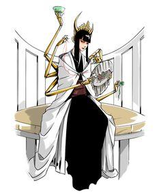 """BLEACH, The Royal Guard """"Great Weave Guard"""" Shutara Senjumaru"""