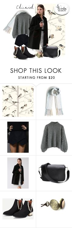 """Winter season"" by andrea-pok on Polyvore featuring Schumacher and Chicwish"