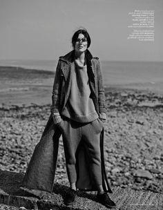 Emma Champtaloup in Cover Me by Annemarieke Van Drimmelen Vogue NetherlandsSeptember 2014