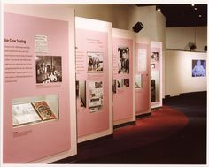 Image result for Museum exhibit design segregation 1950s 1960s