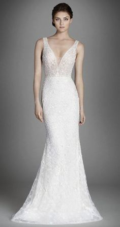 Wedding dress idea; Featured Dress: Lazaro