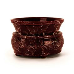 Burgundy Marble Candle Warmer 2 in 1 - Chop Prep Roll