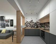 deko tipps wanddeko grauer sofa bilderwand stühle ofen teller lampe kissen