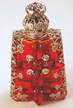 Czech vintage perfume bottle