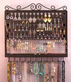 Jewelry Storage Ideas to fit any budget! www.ajskitsy.blogspot.com