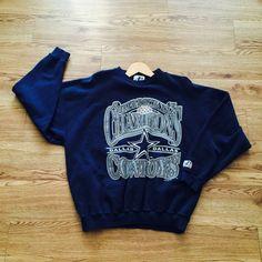 Vintage Dallas Cowboys 1996 Superbowl Logo Athletics Sweatshirt by VNTGvault on Etsy