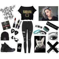 Punk casual chic
