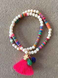 Rakhi Armband Bunt Bracelet Or Bracelets Élastiques Tel Beaded Wrap