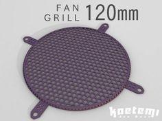 3D Printed Fan Grill 120 mm