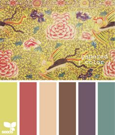 These colors would go sublimely with Crate Paper's Restoration line...