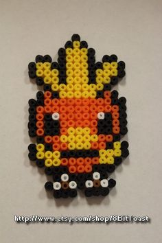 Torchic (Pokemon) - Perler Bead - keychain, magnet or necklace - cheap and great quality