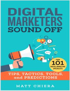 Infront Webworks SEO & Marketing Director is proud to featured in Mark Chiera's New Book- Digital Marketers Sounds Off, Great read, check it out on Amazon!