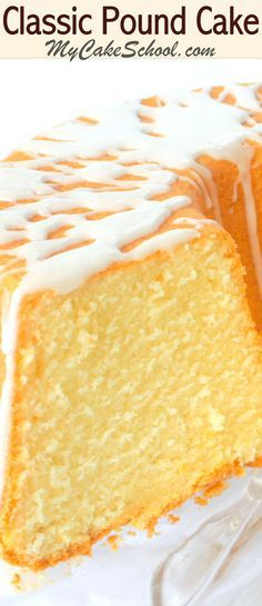 This Classic Pound Cake Recipe from scratch is the best! So simple to make, delicious, and perfect for entertaining!