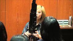 Tema de Super Mario Bros tocado em um instrumento chinês