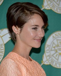Image result for shailene woodley pixie cut