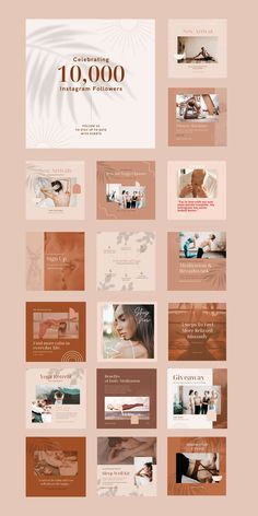 $25 · Bring harmony to your brand with the Yoga Social Feed Template, a divine set of 30 custom presets designed to give your social feeds a calming, earthy aesthetic. This robust collection of fully customizable Canva templates allows you to easily create on-brand social content to drive traffic, increase engagement, and promote tranquility. Pilates Machine, Social Proof, Instagram Feed, Instagram Posts, Instagram Post Template, Business Branding, Step By Step Instructions, Calming, Earthy