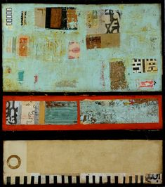 Jill Ricci  - Collage and painting
