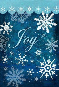 Toland Home Garden Snowflake Flurries 12.5 X 18 Inch Decorative  USA Produced Garden Flag