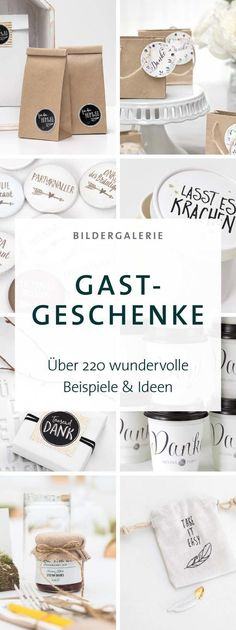Außergewöhnliche Gastgeschenke Hochzeit: 220 Ideen From ideas for individualized guest gifts to inspirations for pretty packaging for your wedding jam, we have put together unusual examples in a Wedding Favors And Gifts, Wedding Guest Gifts, Pretty Packaging, Engagement Ring Cuts, Name Cards, Unique Weddings, Event Planning, Wedding Events, Wedding Ideas