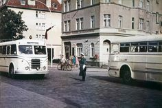 Foto der Schleusenbrücke in Stralsund aus dem Jahr 1962 für das Stralsund-Album von OZ-Leserin Doris Voß.