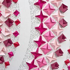 Tableau origami - Mandala