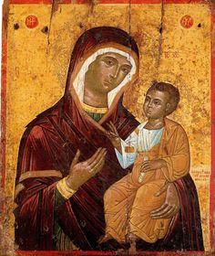 Virgin Mary, Old Friends, Fresco, Album, Byzantine, Painting, Fresh, Painting Art, Blessed Virgin Mary