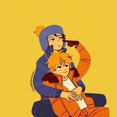 South Park Anime, South Park Fanart, Kenny South Park, Style South Park, South Park Characters, Davekat, Fan Art, Drawings, Instagram