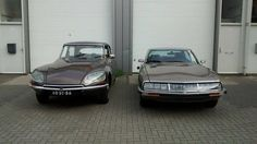 Citroën DS and SM