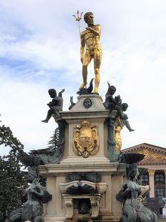 Statue of Neptune Batumi Georgia