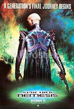 Star Trek Nemesis Movies Poster - 69 x 104 cm