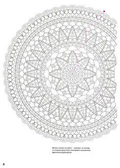 Hermosas mandalas en crochet, patrones fáciles y rápidos de elaborar - Knitting ProjectsKnitting HumorCrochet PatternsCrochet Bag Motif Mandala Crochet, Crochet Circles, Crochet Diagram, Crochet Stitches Patterns, Crochet Chart, Filet Crochet, Crochet Doilies, Blanket Crochet, Carpet Crochet