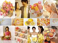 The Perfect Palette: {Welcome Spring}: Orange, Latte, Pink, Peach, & Shades of Yellow