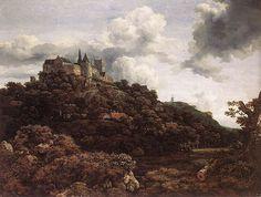Bentheim Castle 1653 Jacob van Ruisdael