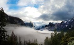 This is why Im a morning person. Sunrise at Tunnel View Yosemite National Park CA [OC] [52973283] #reddit
