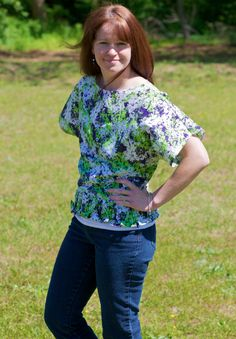 Sew Spoiled: The Tulip Blouse Tutorial Part 1