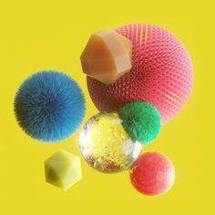 Deze bizarre 3D-renderings zien er zo echt uit dat ik ze in m'n mond wil stoppen | The Creators Project