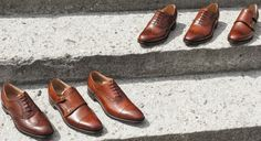 The ability to seamlessly blend the past with the future, all while using the finest materials available, has led #cheaneyshoes   to become known as some of the premier Goodyear welted shoes in the world today. Cheaney shoes also feature classic oxfords, brogues, and boots that can truly complement a man's wardrobe in #milan #italy