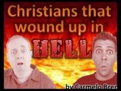CRISTIANOS FRIOS QUE TERMINARON EN EL INFIERNO - JESUS ME MOSTRO QUE NI LOS FRIOS NI LOS TIBIOS SERAN SALVOS