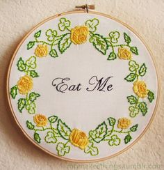 These Snarky Embroideries Will Make You Swoon!