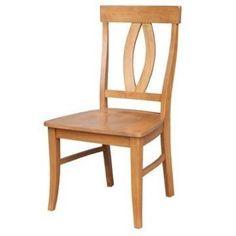 Cosmopolitan Verona Hardwood Dining Chair (2-Pack) - Aged Cherry