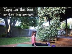 Yoga for Feet Going to have to try this, particularly to ease some of the arch pain I get from running!