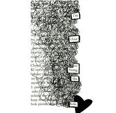 Piece by @rhsinstapoetry. ❤️#makeblackoutpoetry #blackoutpoetry #poetrycommunity #poetry