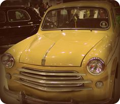 1956 FIAT Millecento on display at the Mumbai International Motor show in Mumbai