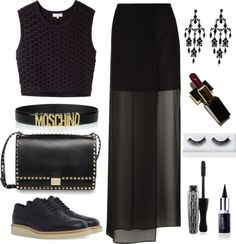 """""""All Black"""" by mylla06 on Polyvore"""