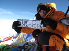 Johnny Strange on Everest