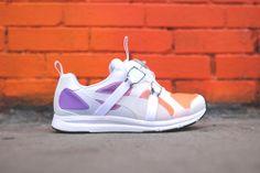 Puma Future Disc HST - White / Purple / Orange | Sneaker | Kith NYC