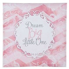 "I'm just pinning this because its cute & would be cute in any little girls room. clearance $13.99 @Hobby lobby 18"" x 18"""
