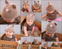 Cat Hat 612M and 1224M by beliz82 on Etsy